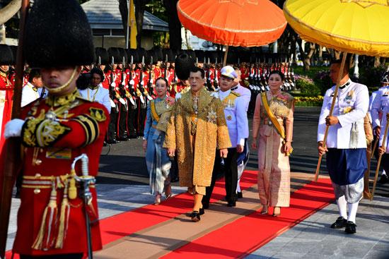 استكمال مراسم تتويج ملك تايلاند