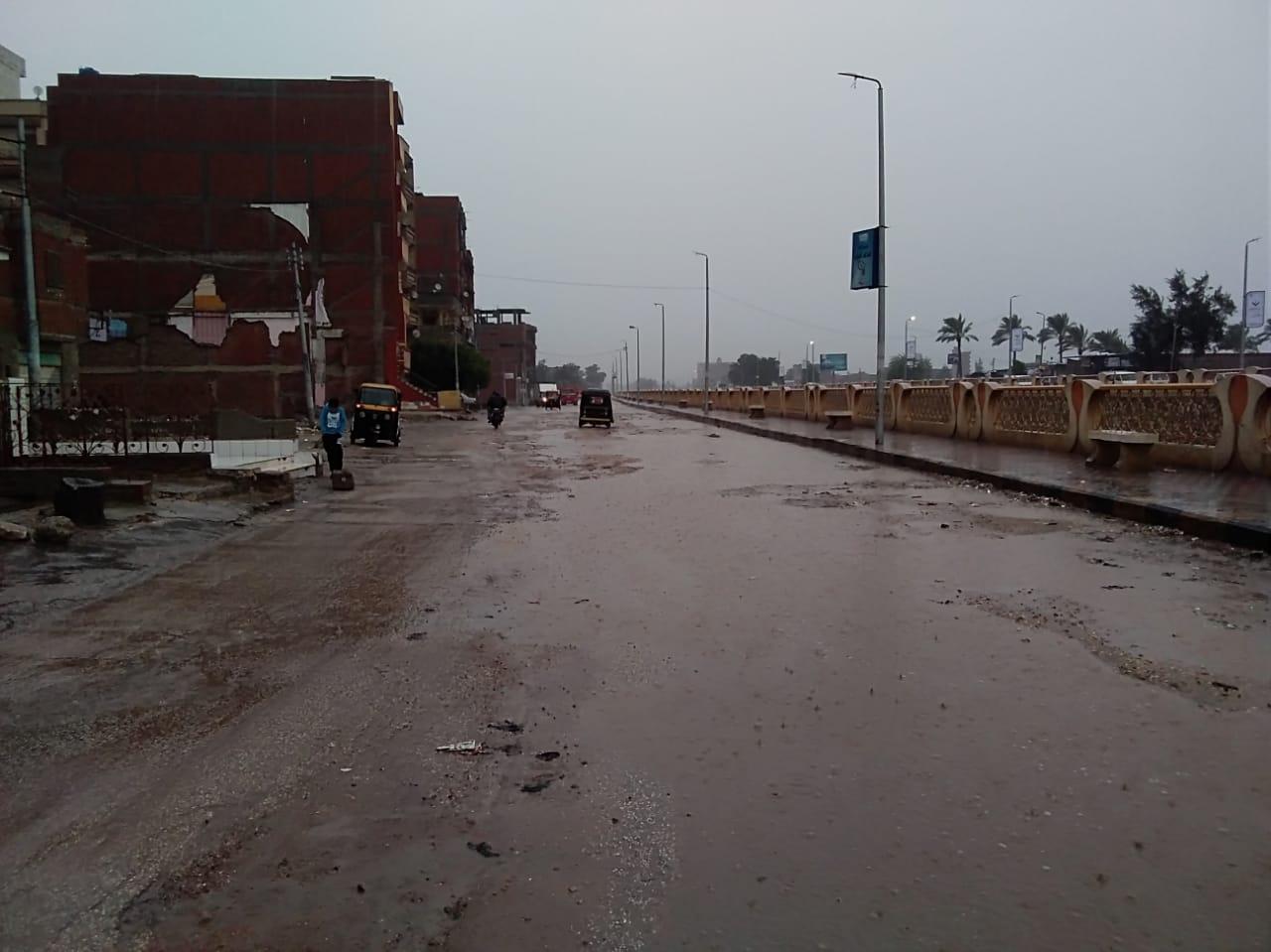 الأمطار بكفر الشيخ (4)