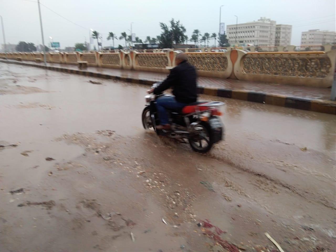 الأمطار بكفر الشيخ (6)