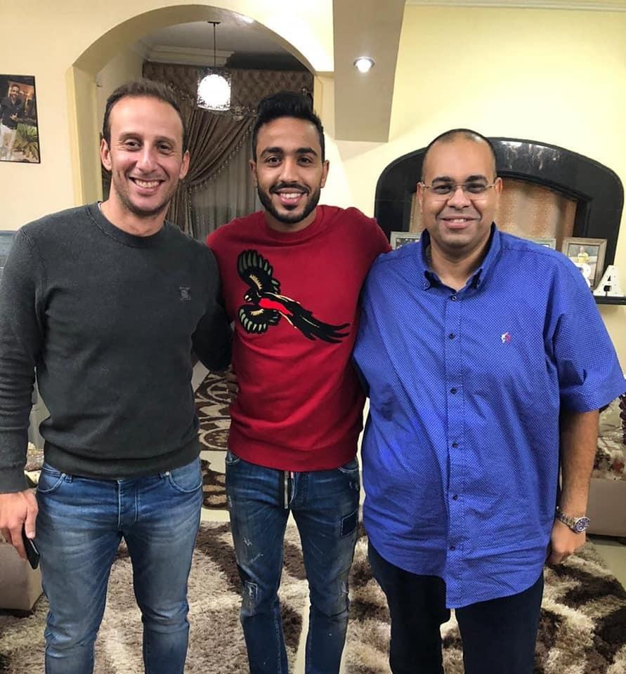 كهربا مع امير توفيق ومحمد المغربى