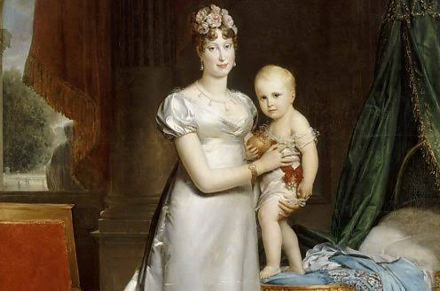 مارى لويز وطفلها