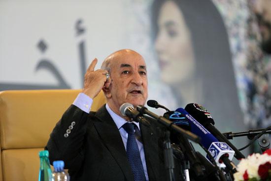 الرئيس الجزائرى المنتخب الجديد