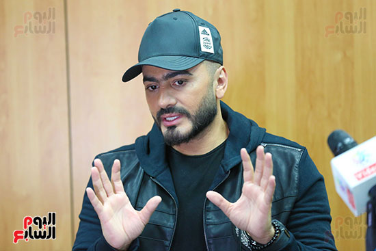 ندوة تامر حسني (3)