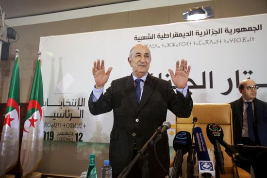 الرئيس الجزائرى المنتخب عبد المجيد تبون