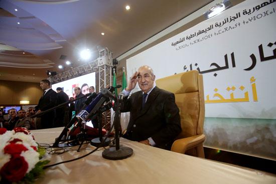 الرئيس الجزائرى المنتخب