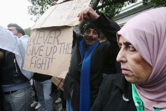 المظاهرات بالجزائر