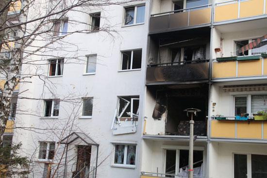 انفجار ألمانيا