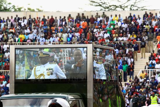 الرئيس كينياتا