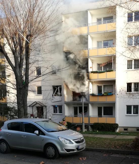 انفجار بأحد الوحدات السكنية فى ألمانيا