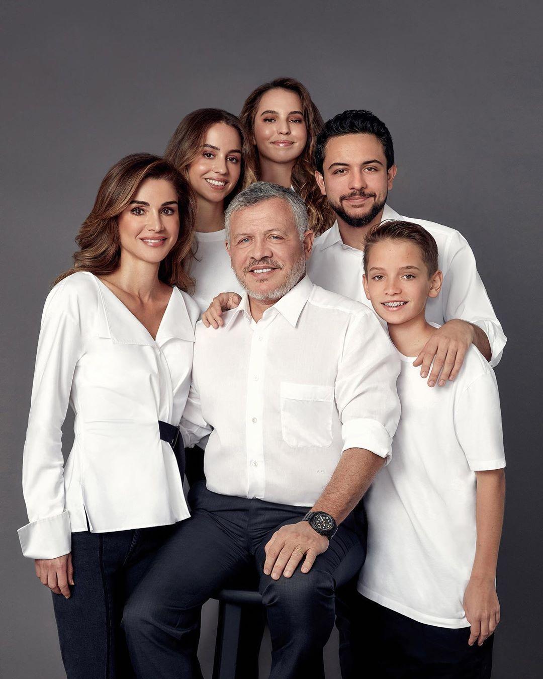 أسرة الملك عبد الله