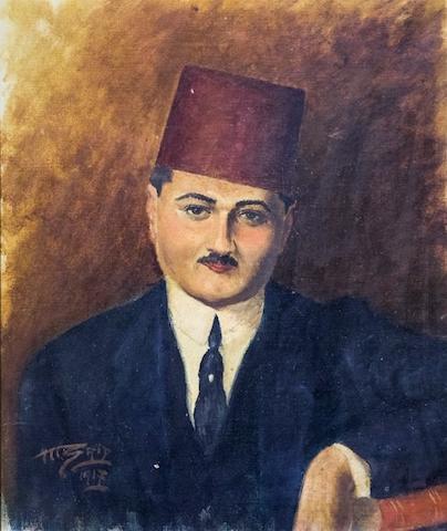 لوحة أحمد باشا مظلوم