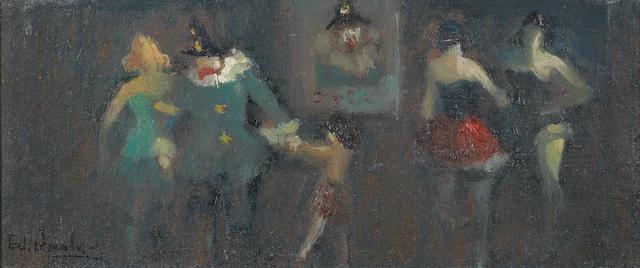لوحة الرقصات