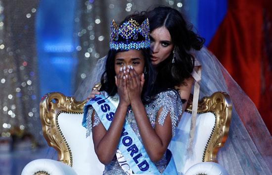 ملكة جمال جاميكا تتوج بلقب ملكة جمال العالم