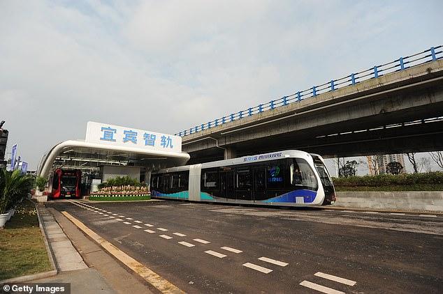 قطار الصين 2