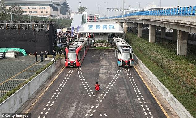 قطار الصين 4