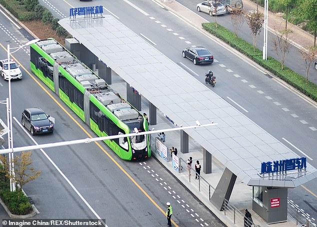 قطار الصين 5