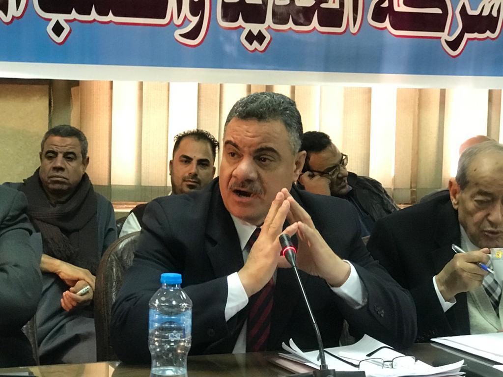 احمد الصاوى عضو مجلس ادارة شركة الحديد والصلب