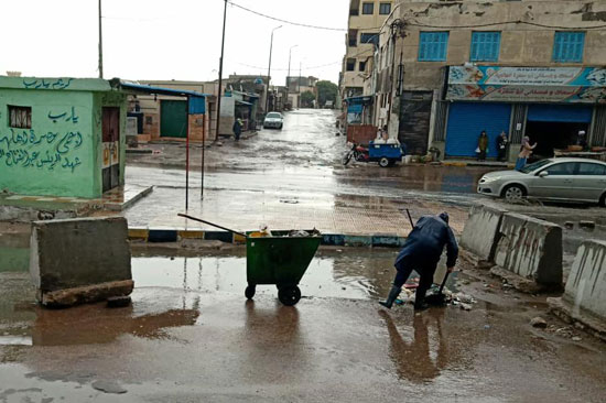أمطار رعدية غزيرة بالإسكندرية (5)