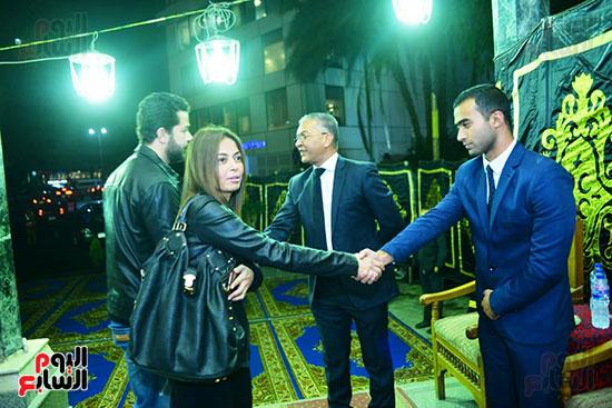 داليا مصطفى تقدم واجل العزاء فى المخرج محسن حلمى
