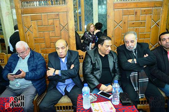 جانب من عزاء المخرج محسن حلمى (2)