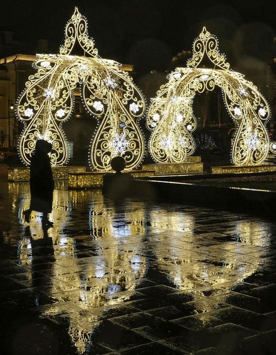 احتفالات موسكو
