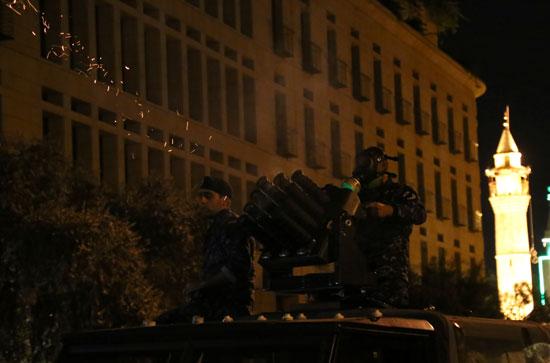 الشرطة تطلق الخرطوش