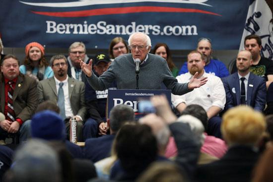 بيرنى ساندرز مرشح الانتخابات الأمريكية