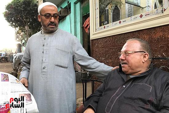 اليوم السابع يلتقى عبد الغفور بطل لن أعيش فى جلباب أبى (13)