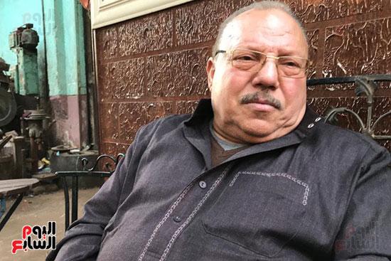 اليوم السابع يلتقى عبد الغفور بطل لن أعيش فى جلباب أبى (7)