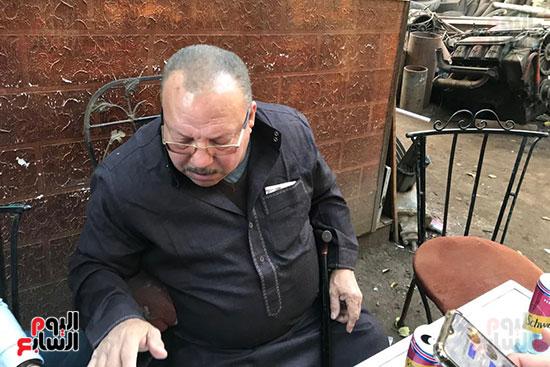 اليوم السابع يلتقى عبد الغفور بطل لن أعيش فى جلباب أبى (5)