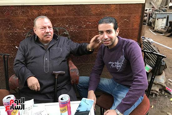 اليوم السابع يلتقى عبد الغفور بطل لن أعيش فى جلباب أبى (14)