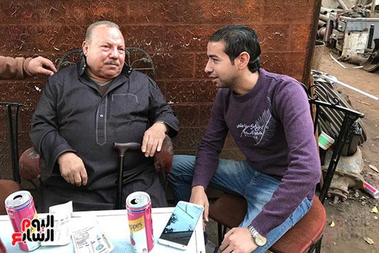 اليوم السابع يلتقى عبد الغفور بطل لن أعيش فى جلباب أبى (12)