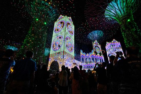 الكريسماس فى سنغافورة