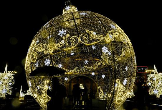المصابيح فى موسكو