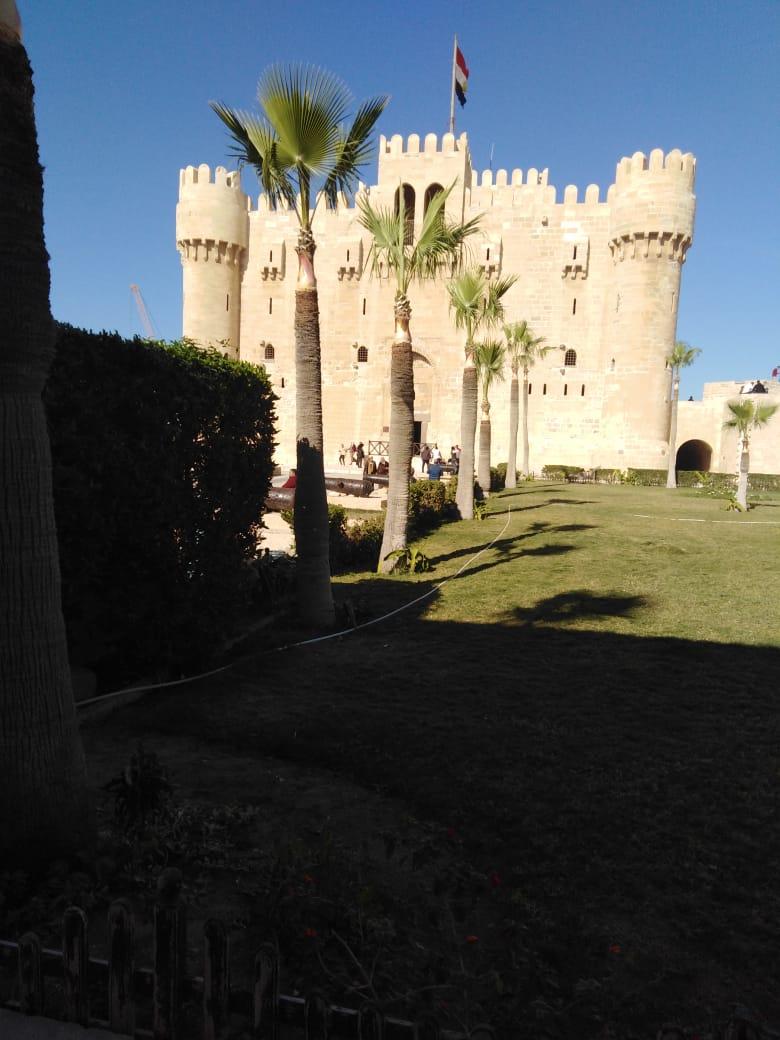حدائق القلعة