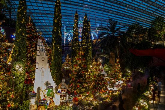 أشجار عيد الميلاد فى سنغافورة