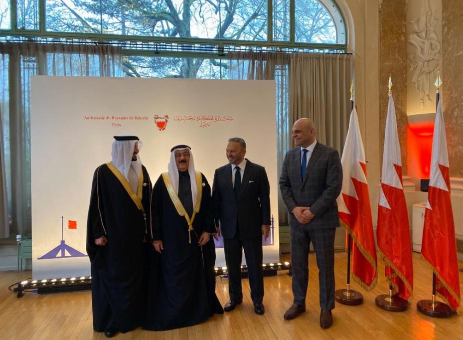 احتفال سفارة البحرين بباريس بالعيد الوطنى