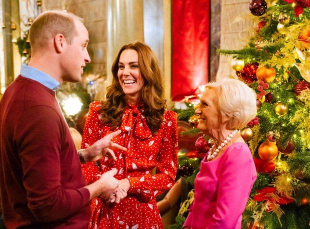 الأمير وليام وكيت ميدلتون فى عرض A Berry Royal Christmas