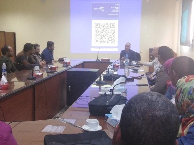 تدريب 20 متدرب من الدول العربية فى إدارة المياه الجوفية والشحن الاصطناعي (1)