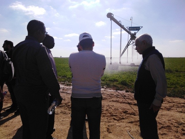 تدريب 20 متدرب من الدول العربية فى إدارة المياه الجوفية والشحن الاصطناعي (3)