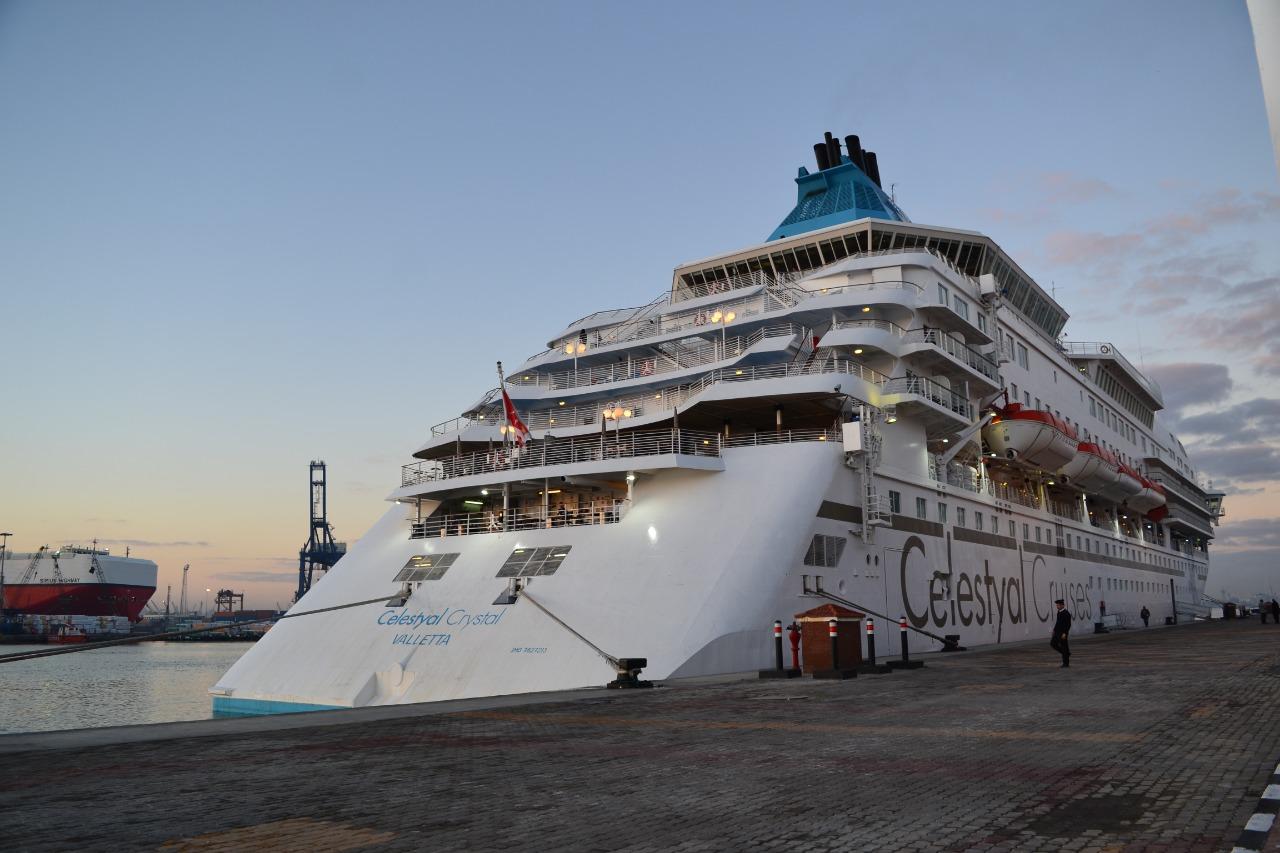 وصول سائحين إلى ميناء الإسكندرية (7)