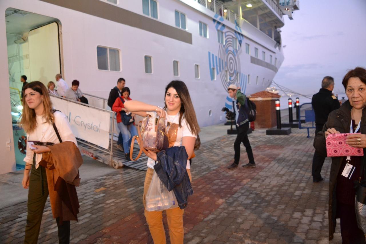 وصول سائحين إلى ميناء الإسكندرية (9)