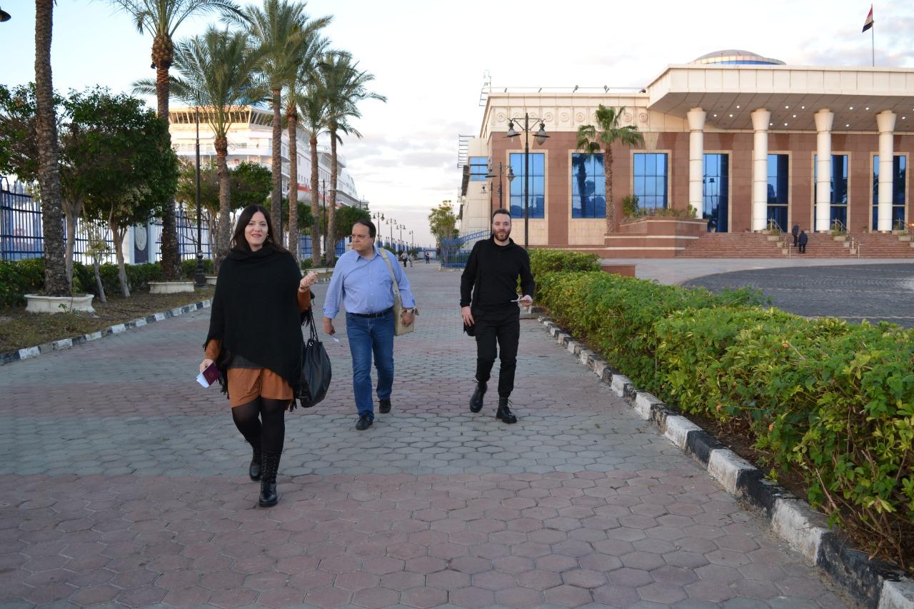 وصول سائحين إلى ميناء الإسكندرية (6)