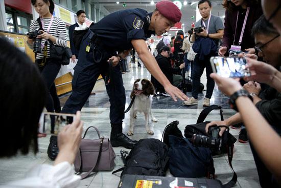 اجراءات-أمنية-بالمطار-استعدادا-لاستقبال-الرئيس-الصينى