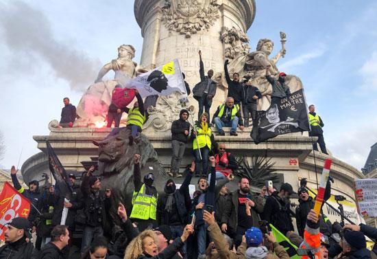 اضراب فرنسا