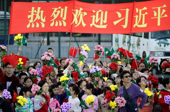 احتفالات-بماكاو-مع-قدوم-الرئيس-الصينى