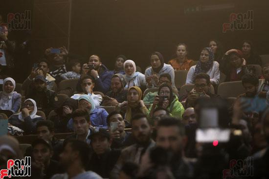 حفل وزارة الشباب لتكريم تامر حسنى بعد دخوله موسوعة جينيس (8)