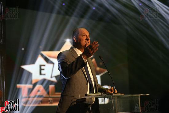 حفل وزارة الشباب لتكريم تامر حسنى بعد دخوله موسوعة جينيس (21)