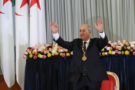 الرئيس-الجزائري-المنتخب-عبد-المجيد-تبون-خلال-حفل-أداء-اليمين-في-الجزائر