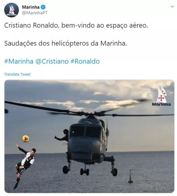 تغريدة البحرية البرتغالية